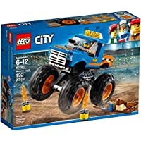 LEGO 60180 City Great Vehicles Monster Truck Toy, Vehicle Construction Sets for Kids,muilti colour