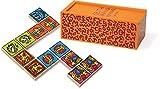 Vilac 28 Piece Dominos Set by Keith Hari...