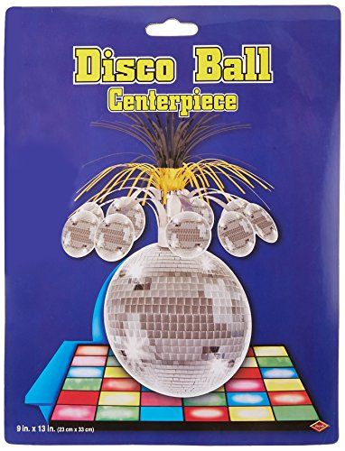 léopard 57764 1-pack Boule disco Centre de table, 33 cm