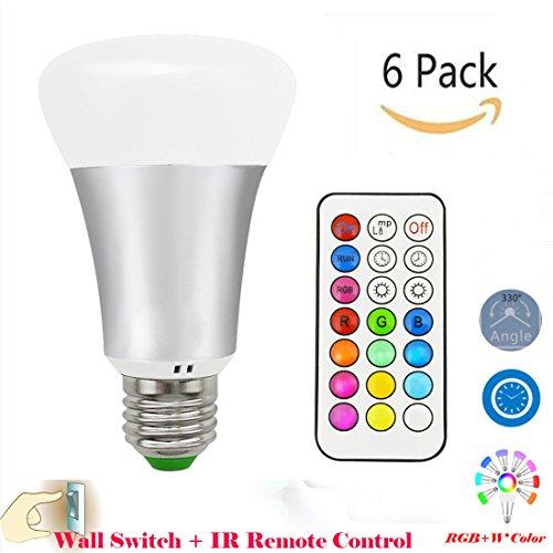 lennystonetempismo-rgbw-10w-lampadina-del-led-12-colori-cambiare-dimmerabili-lampade-con-telecomando