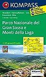 Parco Nazionale del Gran Sasso 1 : 50 000: Wanderkarte mit Radtouren. GPS-genau