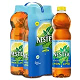 Nestea Té Negro Limón Botella - 1.5 l (Pack de 4)