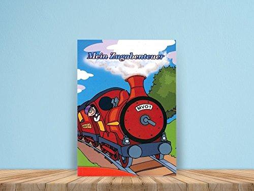 Mein Zugabenteuer - ein personalisiertes Kinderbuch