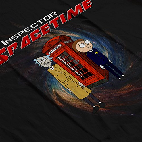 Rick And Morty Inspector Spacetime Community Women's Sweatshirt Black