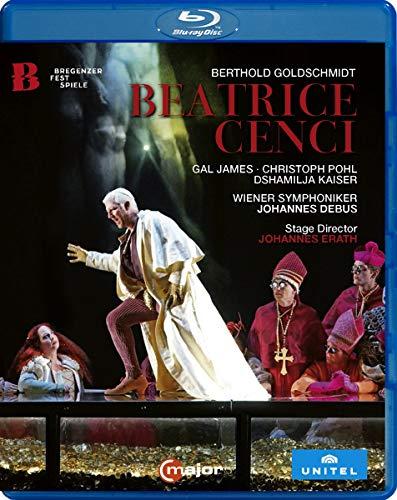 Berthold Goldschmidt: Beatrice Cenci (Bregenz Festival, July 2018) [Blu-ray]