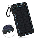 Best Solar Charger Androids - X-DNENG 15000mAh Solar Charger Portable Solar Power Bank Review