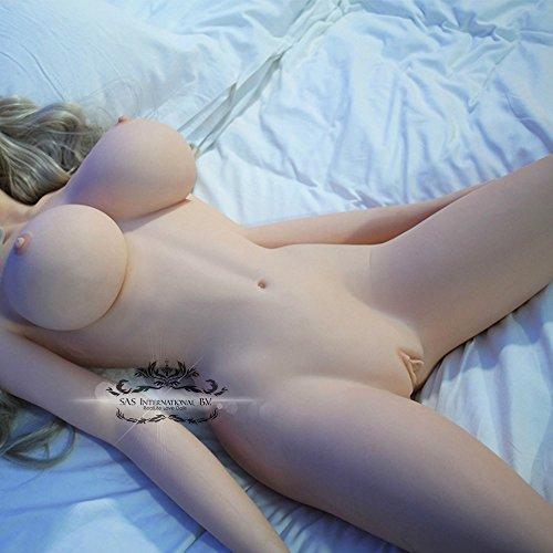 Silikon Liebespuppe Louis Entity Körper Naturgetreue reizvolles wirkliches Fest Lovetoy 158cm 5,18ft - 6