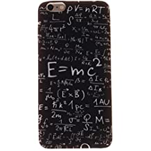 """Cover iPhone 6 Plus Case - Funda [Tapa-Antipolvo&Caída Protección] Bumper Protección Case Cascara Funda para iPhone 6 Plus 5.5"""" Case - Fórmulas matemáticas"""