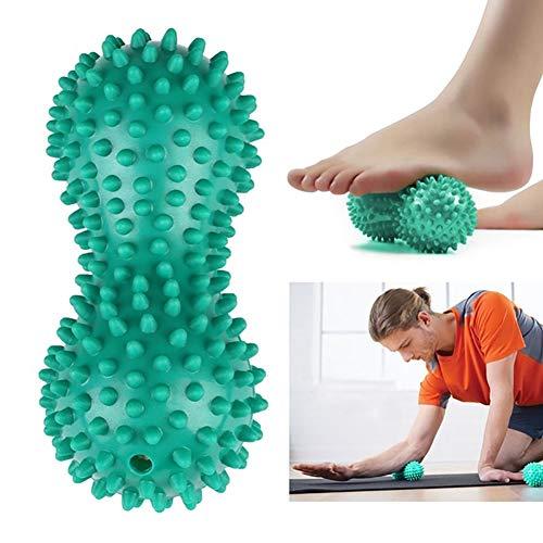 Yoga, Fitness, Erdnuss, Massagegerät, Yoga, Fitness, Ball aus PVC, Stress, Relief, Handfuß, Massagegerät