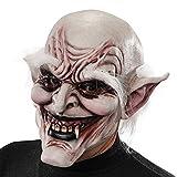 Carnival Toys - Máscara de látex vampiro con cejas y pelo con encabezado, multicolor (662)