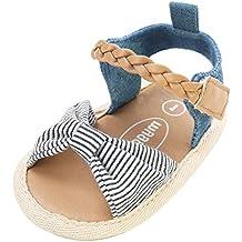UOMOGO Scarpine neonato per 3-18 Mesi Scarpe Sportive Sandali 4058954e92e