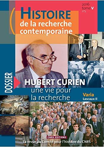 Histoire de la recherche contemporaine T5 n°2 par Michel Blay