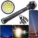 Taschenlampe Von Colorful ,28000LM CREE XM-L LED 21x T6 Super Taschenlampe Lampe Licht 5Mode 26650 18650 ,Perfekt zum Wandern, Camping, Jagen und anderen Outdoor-Aktivitäten