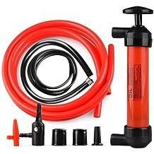 Floratek - Bomba de combustible universal multifunción, 200 cc, portátil, manual, bomba