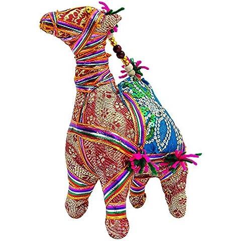 Tradicional Rajasthan Artesanía hecha a mano relleno Camel étnico Arte Home Tabla Decoración