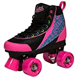 Luscious Retro Quad Roller Skates - Disco Diva - UK 6