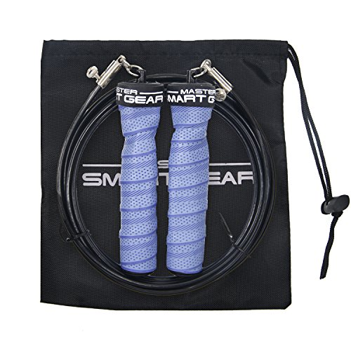MSG Corda per saltare con pesi per allenamento per la forza spessore 4mm Diametro Cavo Lunghezza del cavo regolabile corda per saltare super qualità
