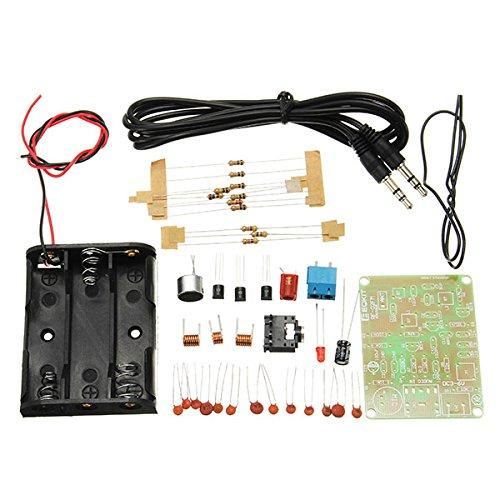 LaDicha 10ST FM Transmitter Kit RF-02 Funkmikrofon Parts MP3 Repeater Micro Transmitter mit Antennen (Kostüm Antenne)
