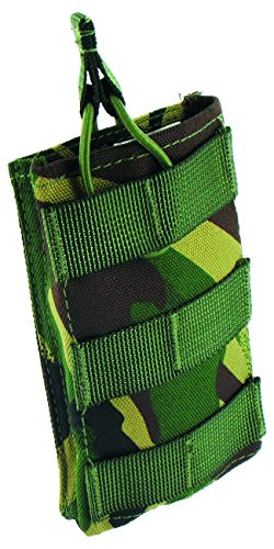 Highlander Single Mag Pouch für 1 Magazin Magazintasche, British Camo, 14 x 8.5 x 2 cm