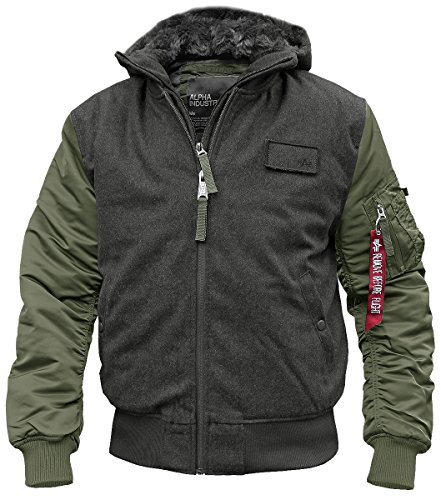 Alpha Industries MA-1 D-Tec Wool Fliegerjacke