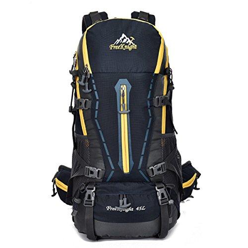 Outdoor Profi Bergsteigen Tasche Wandern Camping Rucksack Groß Kapazität Dark