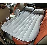 Tofree Auto Materasso Gonfiabile da Viaggio Gonfiabile Universale SUV Air Divano con 2Cuscini d' Aria Grigio Grey