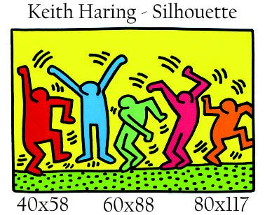 Adesivi Murali Keith Haring.Keith Haring The Best Amazon Price In Savemoney Es