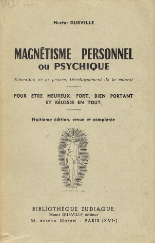 Magnetisme personnel ou psychique