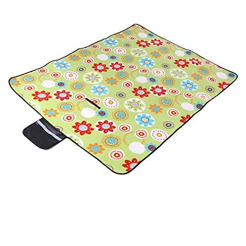 erdichte Picknickmatte Plaid Decke Strand Matte Outdoor Camping Matte für Picknick Baby Krabbeln Schlafmatte Yoga Pad2 ()