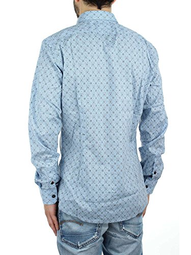 DIESEL - - Homme - Chemise Blanca Print All Over Blanche pour homme 85w