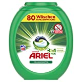 Ariel 3 in 1 Pods Vollwaschmittel, 1er Pack (1 x 80 Waschladungen) -