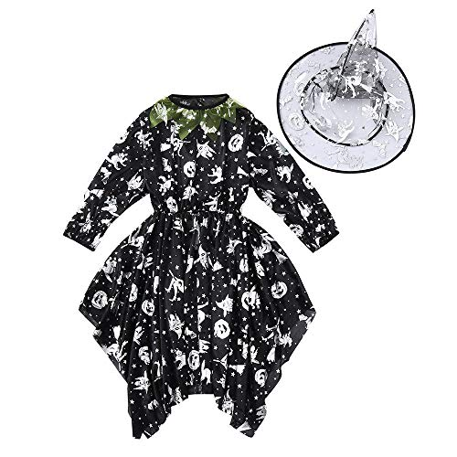 Kostüm Mädchen Silber Skelett - Zolimx Halloween Kostüme Kinder Spielanzug Baby Mädchen Jungen Skelett Strampler Unisex Overall Baby Body Hoody Sweatshirt Baby-Strampler für Mädchen Jungen Kinder Halloween Kostüme