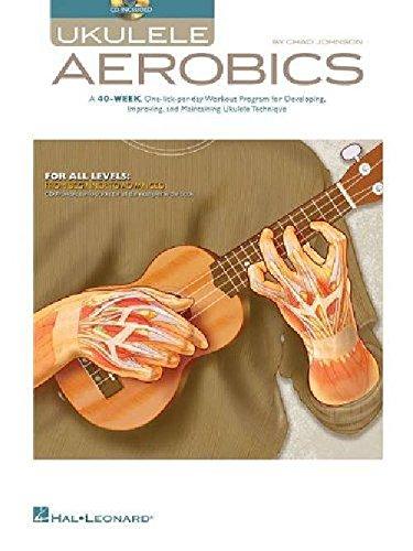 Ukulele Aerobics: For All Levels - Beginner To Advanced. Livre, Partitions, CD pour Ukelele par  HAL LEONARD