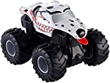 Hot Wheels Monster Jam Rev Tredz Monster-Truck mit Rückzugmotor (Monster Mutt Dalamtiner)