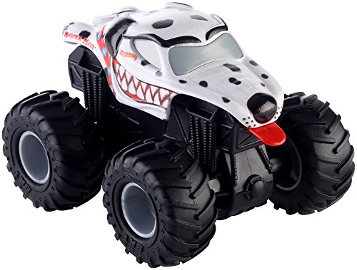 Hot Wheels Monster Jam Rev tredz de Monster Truck con retráctil Motor