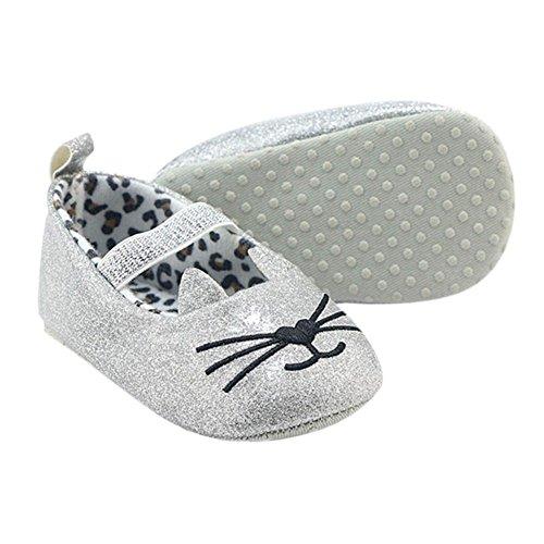 Hankyky Baby Kind Mädchen Junge Anti Skid Weiche Sohle Lauflernschuhe Sneaker Krippeschuhe Kleinkind Schuhe (0 ~ 18 Monate) B