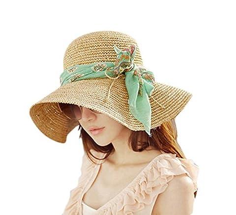 Ruban Pour Chapeau - JUNGEN Floppy Chapeau Wide Brim Chapeau De