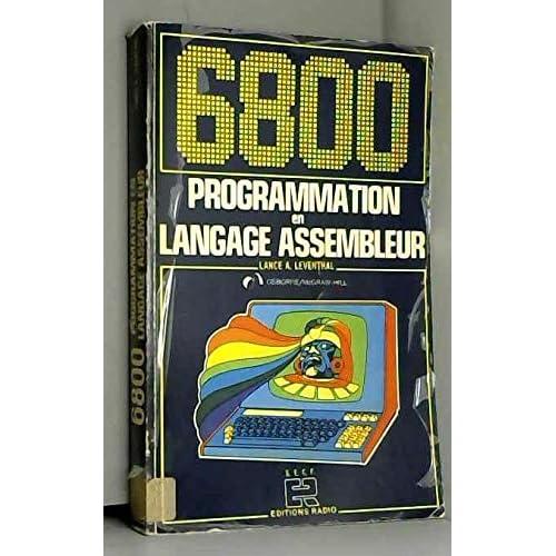 6800 PROGRAMMATION en LANGAGE ASSEMBLEUR