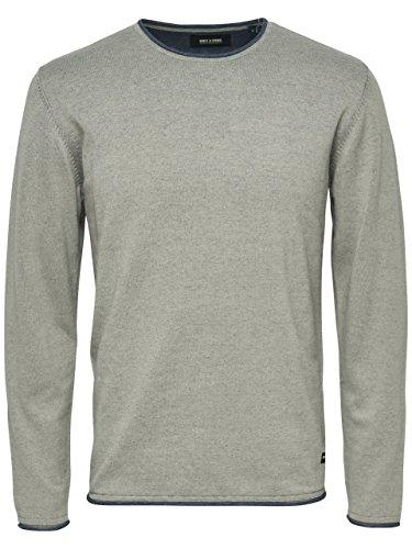 ONLY & SONS - Herren pullover garson naps crew neck knit Grau