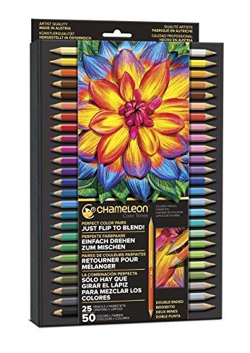 chameleon Art Produkte Chameleon Tones Bleistifte, 50Farbe, multicolor