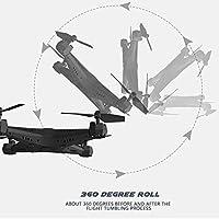 Hanbaili KY501 Remote Control Quadrocopter Drone?One Key Takeoff/Landing/Return 3D Flips Aerobatics Drone with Headless for Kids & Beginners