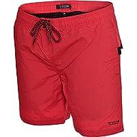 Firetrap Mens Delmater Swim Shorts - Red -Small