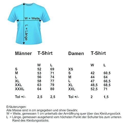 Damen T-Shirt Modell: Fass nichts an... 01 - schwarz