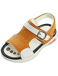 Sandali casual blu per unisex Qzbaoshu