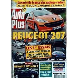 AUTO PLUS [No 915] du 21/03/2006 - PEUGEOT 207 - CLIO - RENAULT TWINGO 2 - CARLOS GHOSN - LES PUBLICITES AUTOS - QUELLE RENAULT MEGANE CHOISIR.