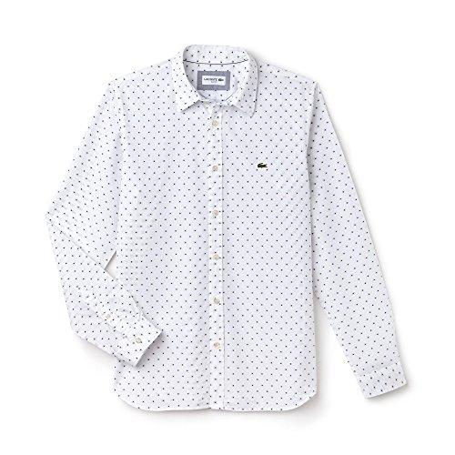 Lacoste Hemden Herren 40 White CH6545-00-522-T40