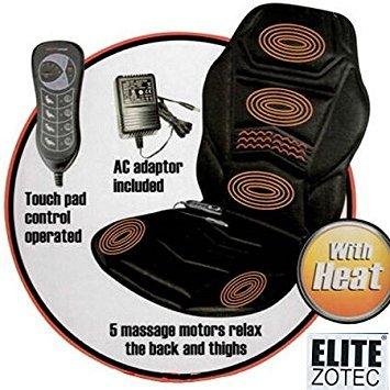 Preisvergleich Produktbild Beheizte Back Sitz Massage Auflage für Sessel Auto Massage Home Relax Van