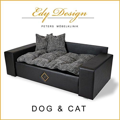 edy design panier en similicuir en forme de canap pour chien et chat taille xxl - Canape Pour Chien Grande Taille