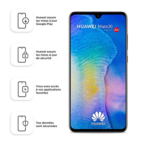 Foto Huawei Mate20 128 GB/4 GB Dual SIM Smartphone - Black (West European)