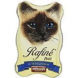 Animonda Katzenfutter Rafiné Petit mit Edelfisch, 18er Pack (18 x 85 g)